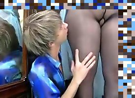 pantyhose mom